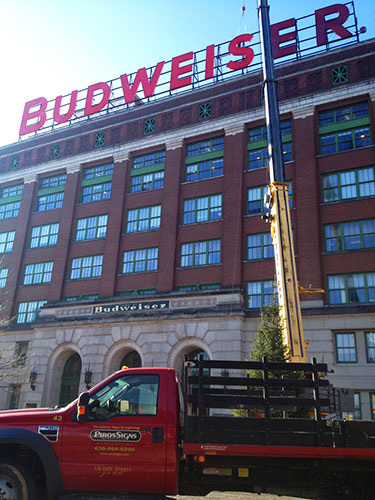 St Louis Budweiser Sign