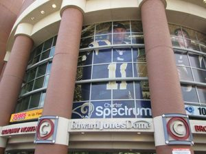 Perforated Window Vinyl Graphics will get your business noticed!