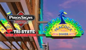 Peacock Garners another award at the Tri-State Sign Expo