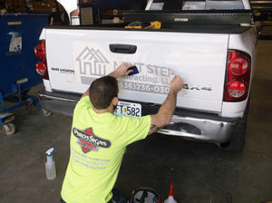 Piros Signs Vehicle Graphics