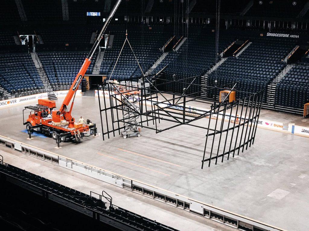 Bridgestone Arena Jumbotron